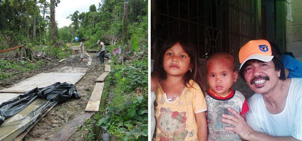 Empat Sandal Jepit di Pedalaman Siberut