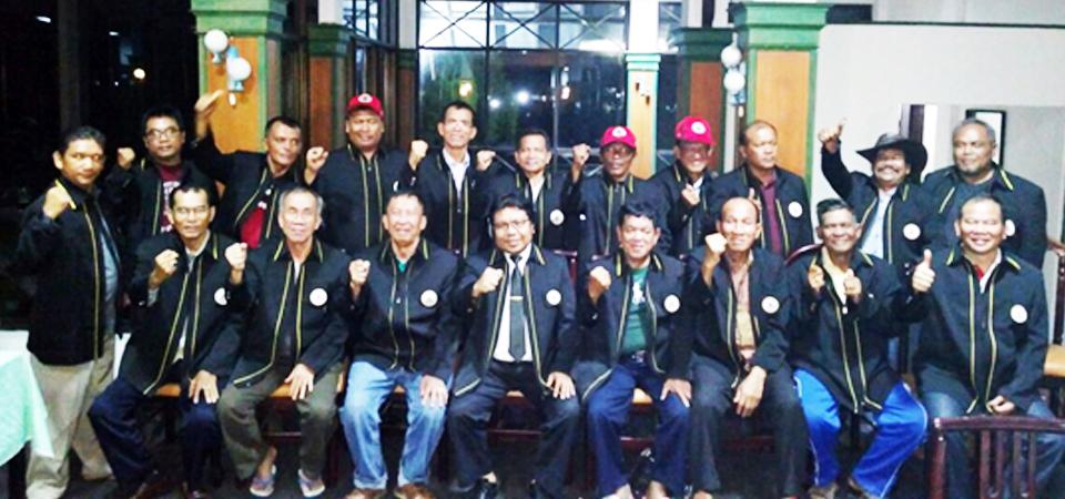 Plt. Ketum DPP PSRBBI Lantik 3 DPW dan 7 DPD Baru di Tolping