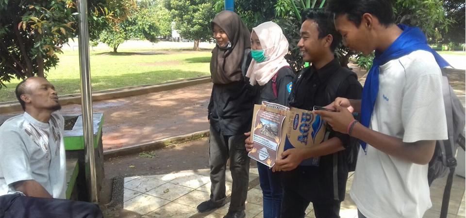 SISPALA Se-Banten Galang Dana Korban Bencana Alam