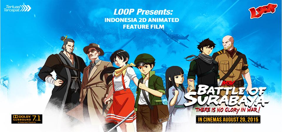 Battle of Surabaya Raih Penghargaan Film Animasi Terbaik di Milan