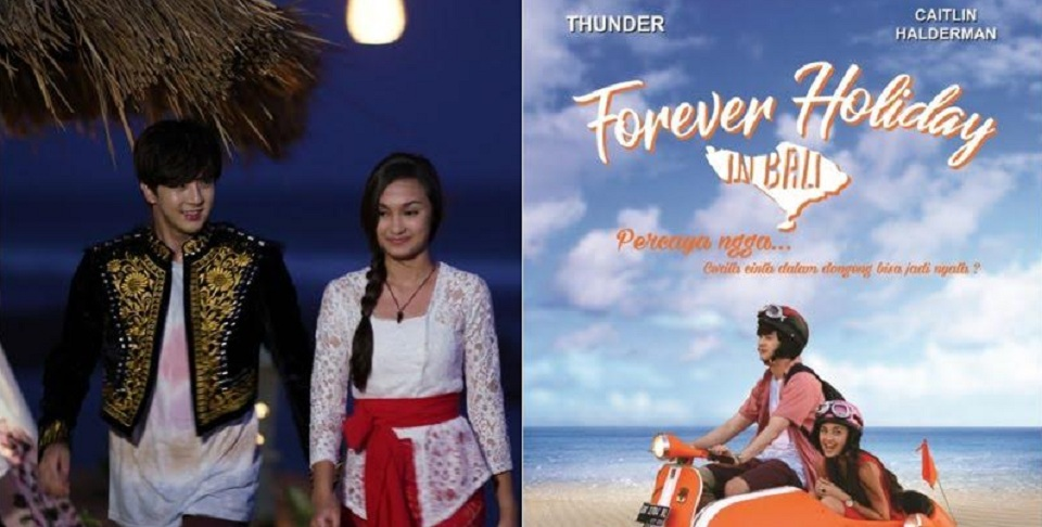 Artis K-pop Main Film 'Forever Holiday in Bali'
