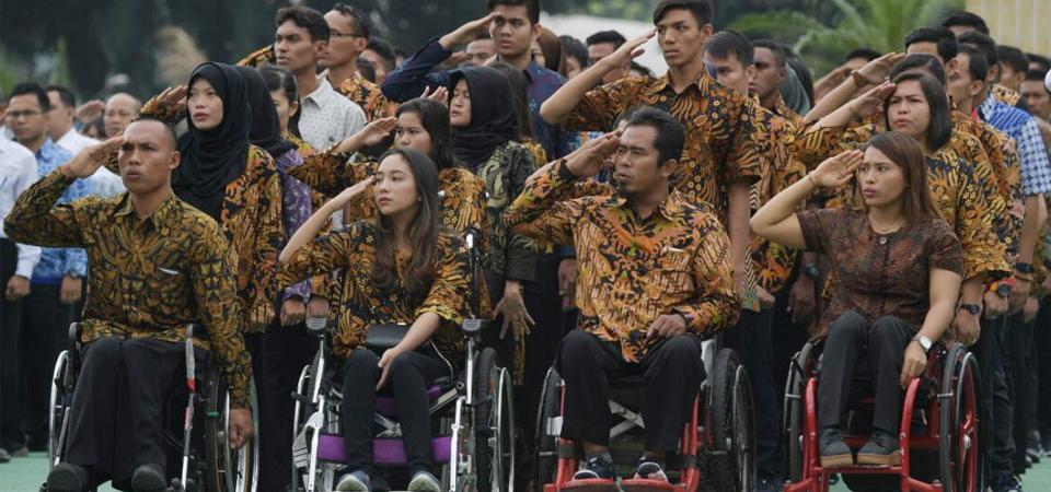 Sebanyak 137 Atlet Berprestasi Diangkat Jadi PNS