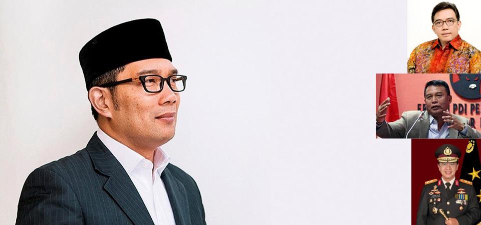 Ridwan Kamil, Dipasangkan dengan Siapa pun Paling Unggul
