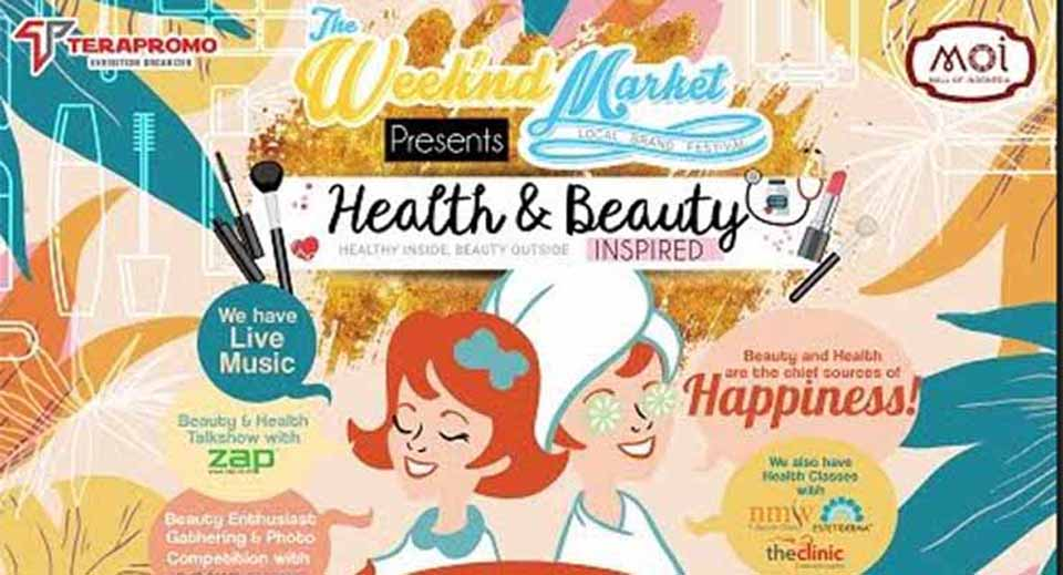 Health and Beauty Inspired di Mall of Indonesia