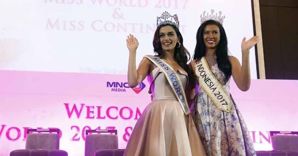 Miss World 2017, Manushi Chhillar Anggap Indonesia Negara ke Dua