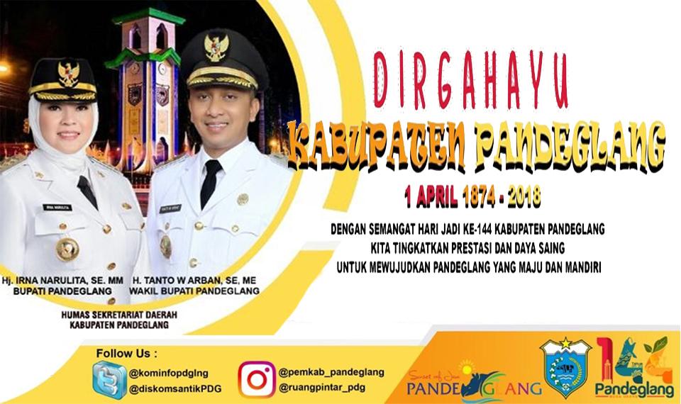 Dirgahayu Kabupaten Pandeglang ke-144 (2)