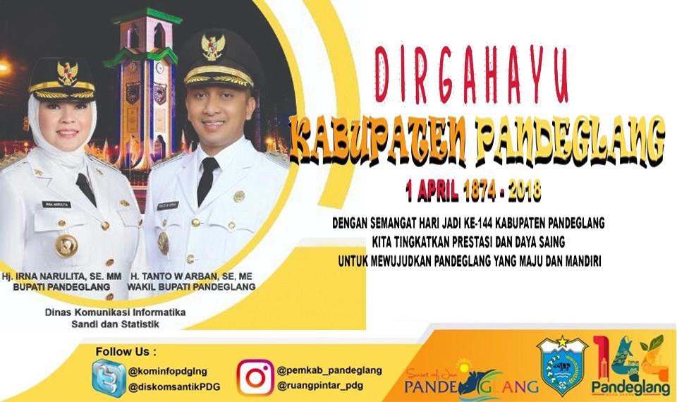Dirgahayu Kabupaten Pandeglang ke-144 (1)