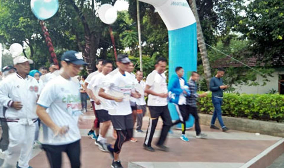 Sandi Ikuti Ciliwung Run 5K