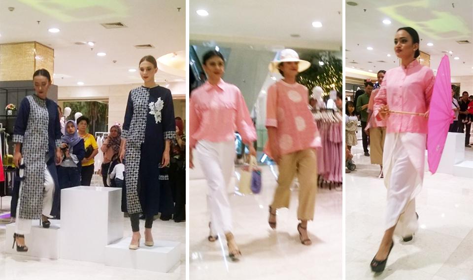 Koleksi Musim Semi Batik Nusantara