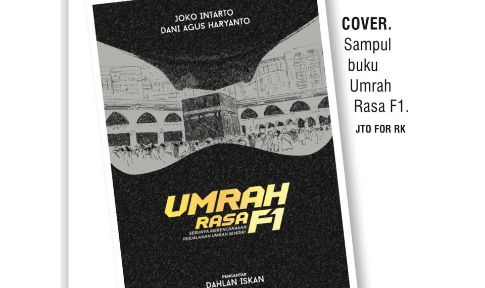 Buku ''Umrah Rasa F1'' Buka PO