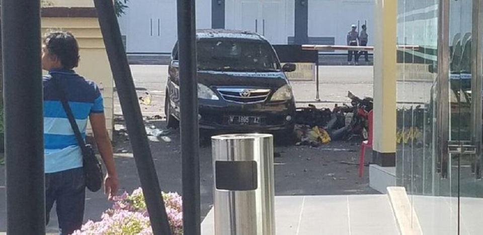 Waspada!! Lagi, Satu Bom Meledak di Polrestabes Surabaya