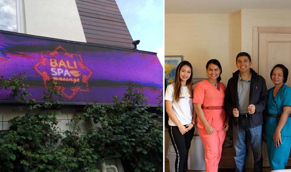 Spa Bali Diminati Warga Ukraina