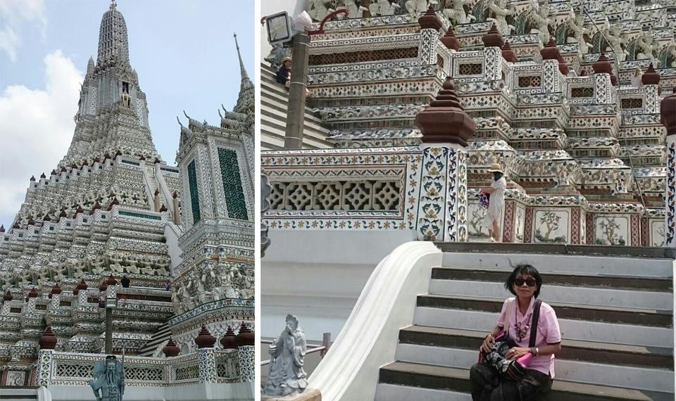 Wat Arun, Kuil Cantik Berornamen Indah