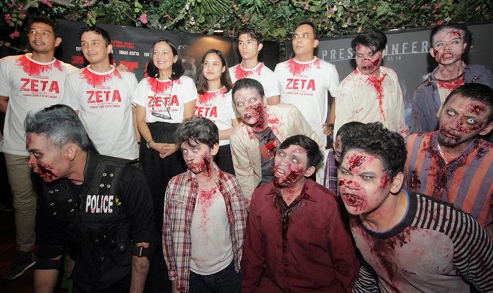 Zeta, Film Zombie Siap Hantui Bioskop