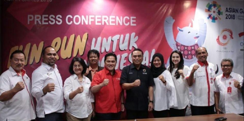 KOI & Inasgog Gelar Fun Run Demi Demamkan Asian Games