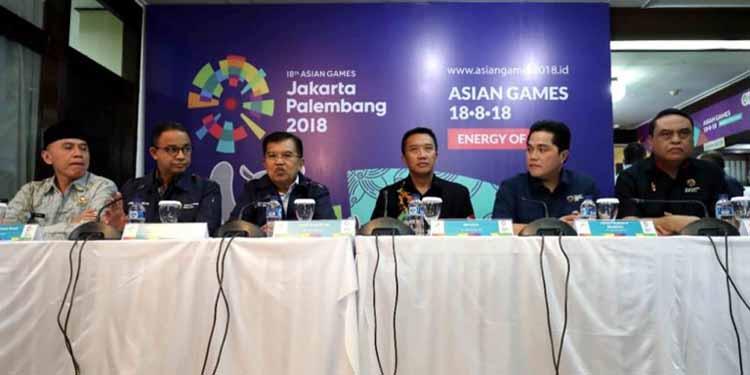 Wapres: Semua Negara Asia Ikut Asian Games 2018