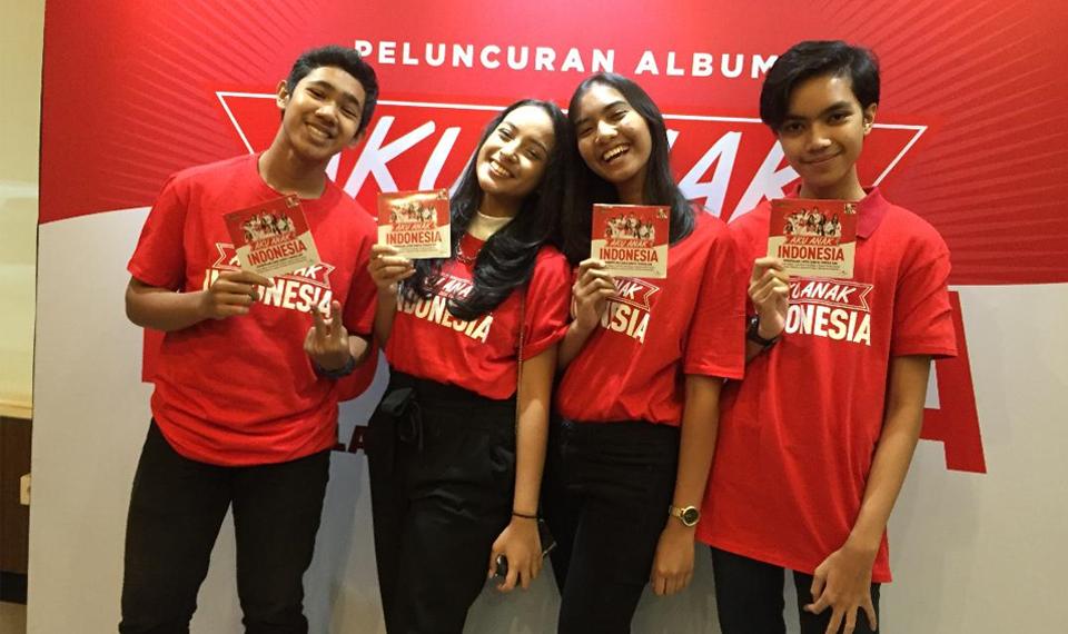 Rasa Cinta Tanah Air di Album 'Aku Anak Indonesia'