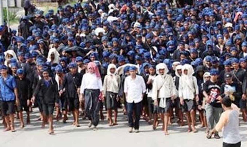 Tradisi Seba Baduy di Serang Banten
