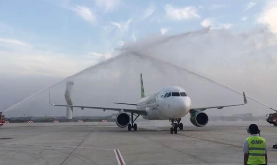 Citilink Terbang Perdana ke BIJB Kertajati Awali Musim Mudik Lebaran 2018