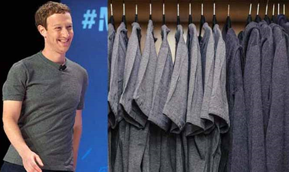 Mengapa Mark Zuckerberg Pakai Kaos Abu-abu Setiap Hari?