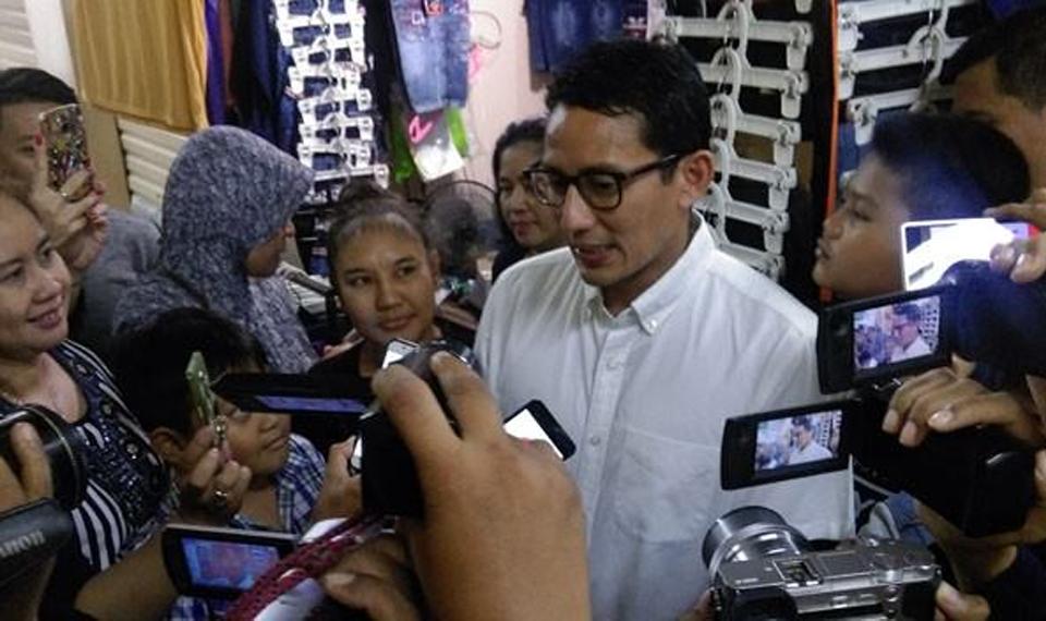 Sandi Janji Dirikan Bioskop Rakyat di Tiga Pasar
