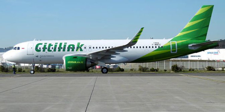 Kabar Baik! Citilink Datangkan Pesawat Baru Airbus A320 NEO