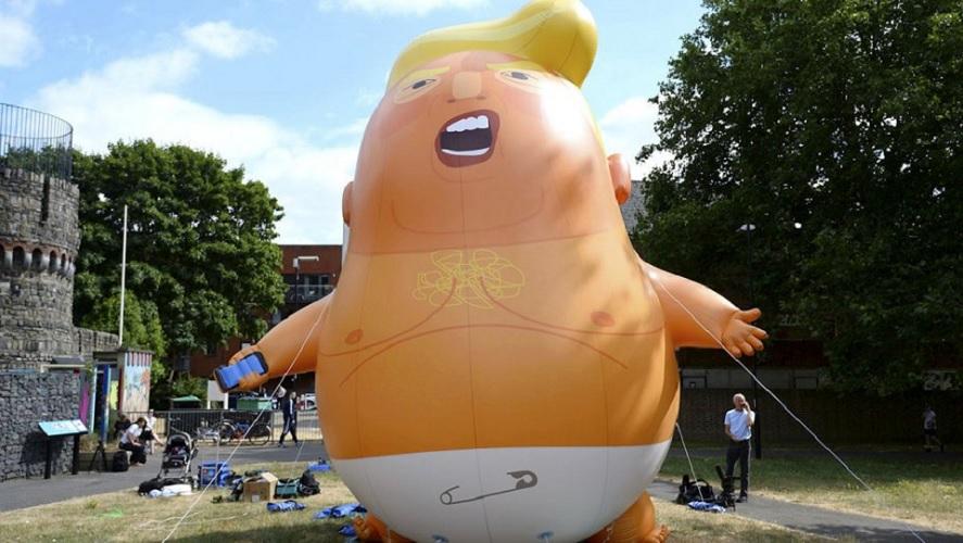 'Trump Baby' siap Mengangkasa di Langit London