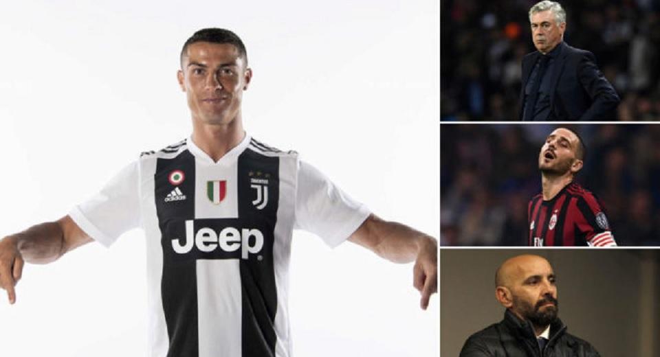 Potret sepakbola Italia saat CR7  bergabung dengan Juventus