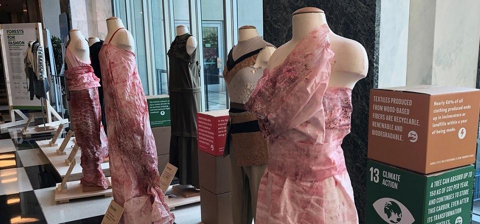 Inisiatif Hutan untuk Fesyen, Produksi Fashion Berbasis Kayu,