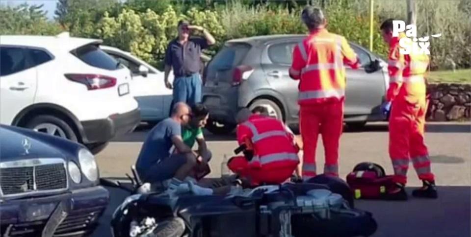 Begini video kecelakaan yang dialami aktor George Clooney di Italia