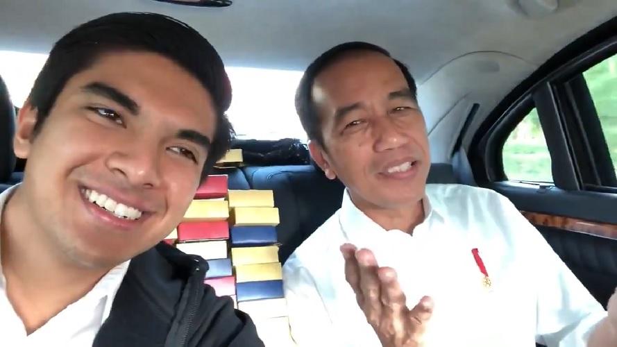 MEDSOS: Jokowi Memanggil Menteri Belia ini 'Bro' Saddiq