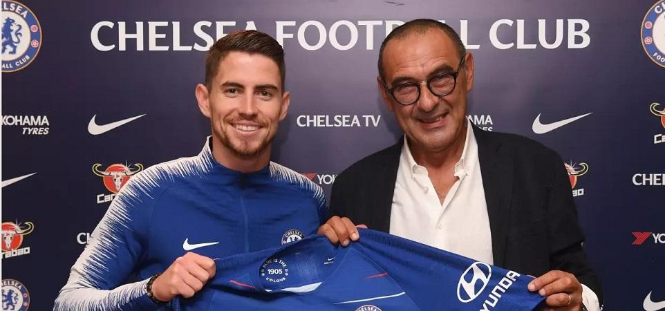 Jorginho Susul Maurizio Sarri dari Napoli ke Chelsea