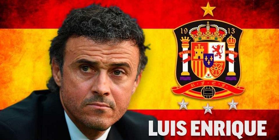 Luis Enrique pelatih baru Spanyol