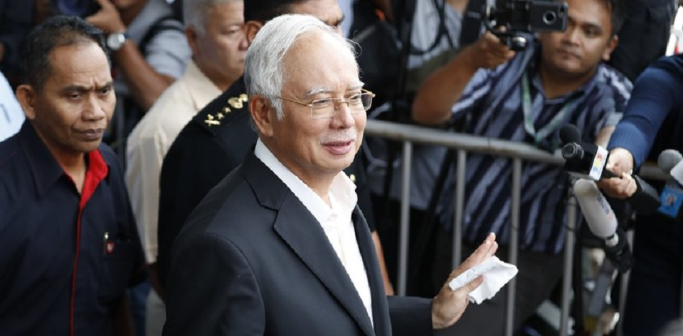 Eks PM Najib ditangkap tim pemberantasan korupsi