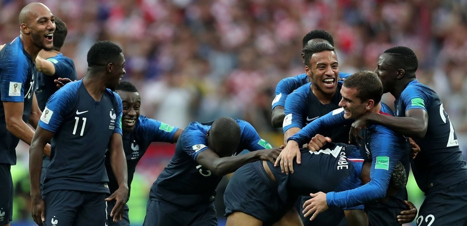 Giliran Prancis untuk mendominasi kekuatan dunia sepak bola