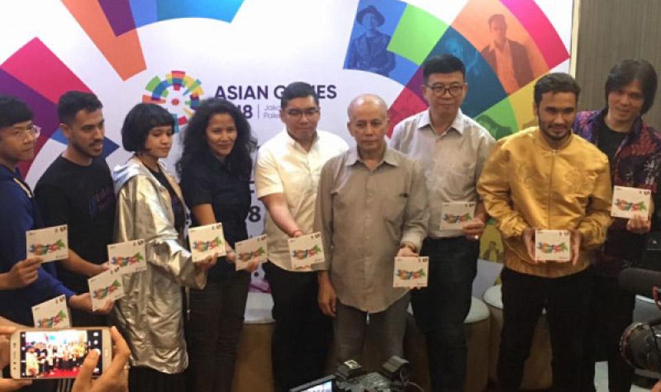 """Album Fisik """"Energy of Asia"""" Asian Games Resmi Diluncurkan"""