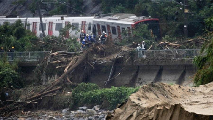 Banjir Jepang renggut 100 nyawa