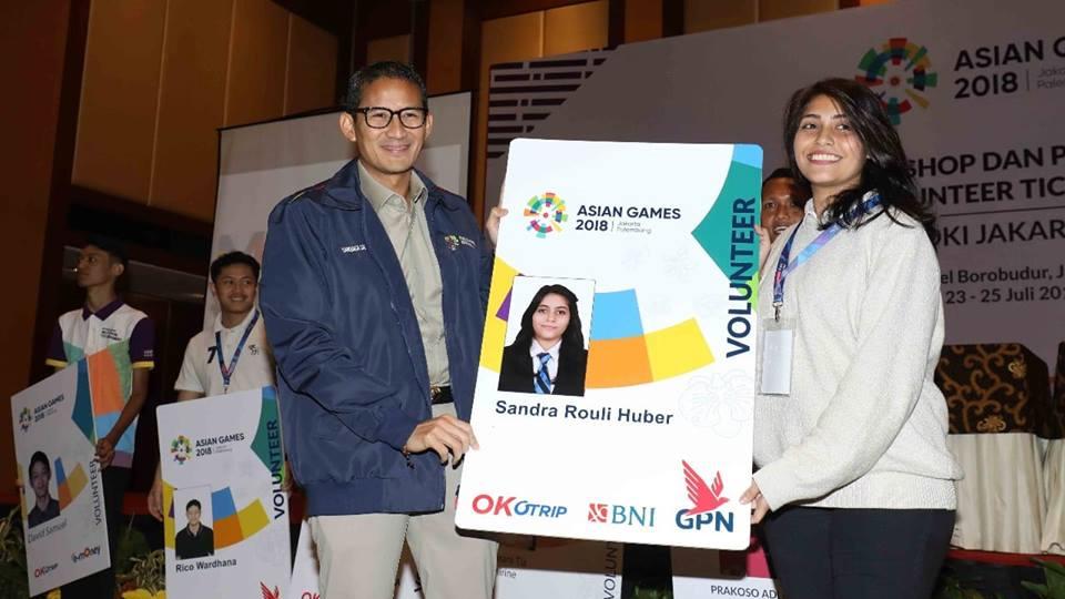 Volunteer Asian Games Bebas Naik Transjakarta
