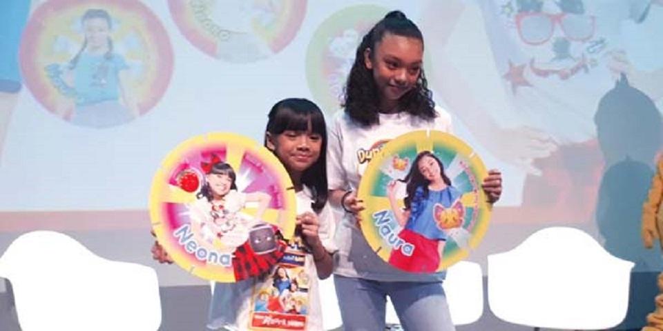 Naura dan Neona Ada di Games 'Dunia Tini Wini Biti'
