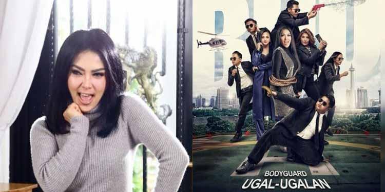 Syahrini tak Baca Seluruh Skenario di Film 'Bodyguard Ugal Ugalan'