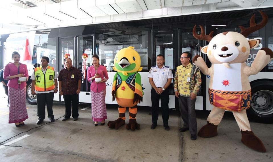 JAS Airport Services Operasikan Lima Apron Bus Lantai Rendah di Bandara Soetta