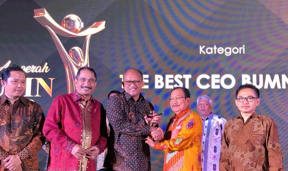 Anugerah BUMN2018: Citilink Sabet Dua Penghargaan