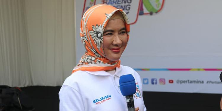 Direktur Utama (Dirut) PT Pertamina (Persero) Nicke Widyawati–istimewa