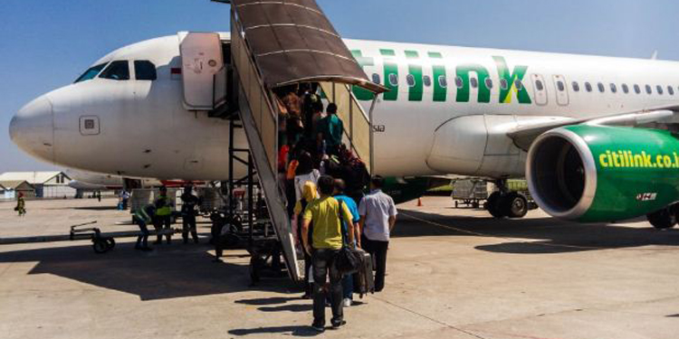 Citilink Kerahkan Extra Flight Angkut Penumpang dari Lombok