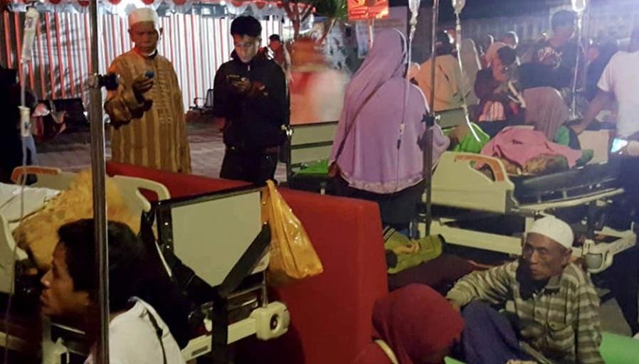 Tim SAR Fokus Pencarian dan Evakuasi Korban Gempa