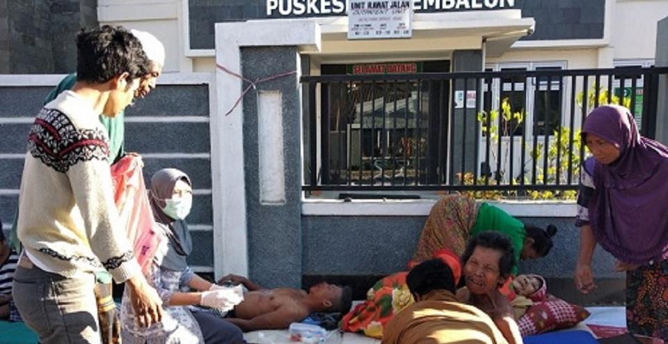 Gempa Lombok Renggut 37 Jiwa