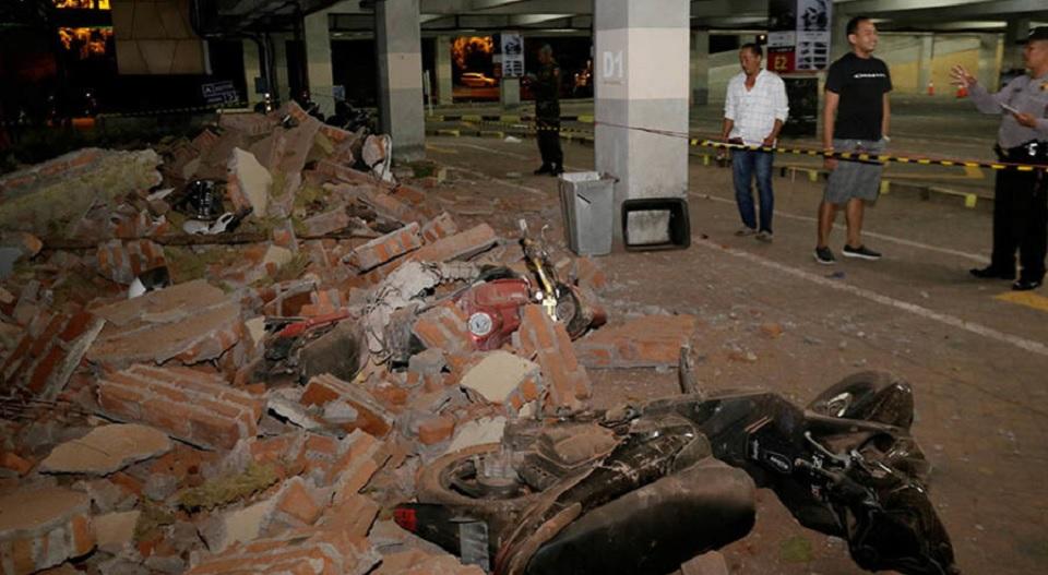 Warga Panik, Gempa Susulan Goyang Lombok