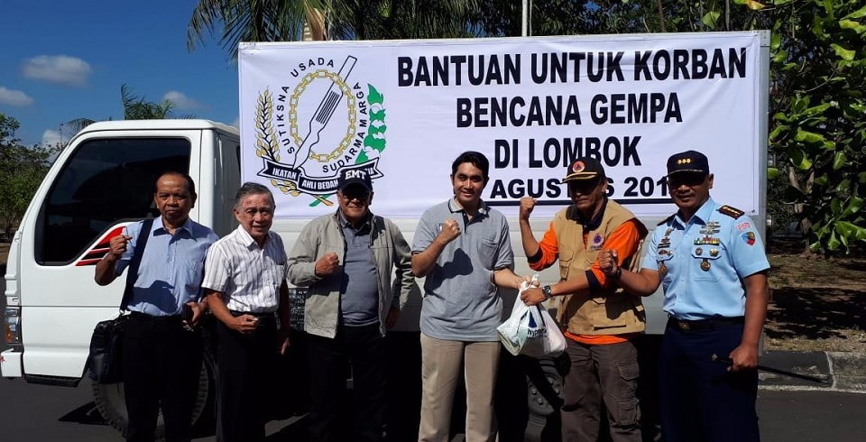 Tanggap Bencana Lombok, IKABI Kirim Tenaga Medis dan Logistik