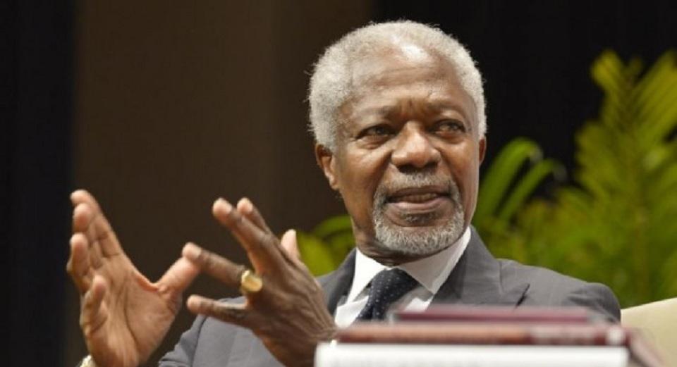 Mantan Sekjen  PBB dan Pemenang Nobel Kofi Annan Meninggal