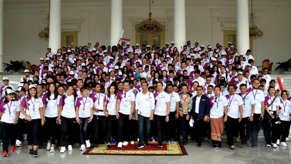 Presiden Ingin Indonesia Sukses Prestasi di Asian Games 2018